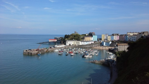 Tenby in Pembrokeshire, Wales